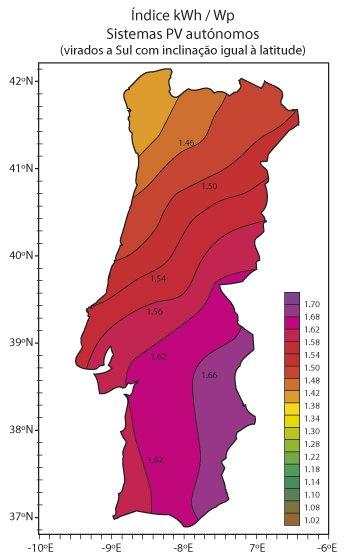 mapa solar portugal CIDADE SOLAR mapa solar portugal